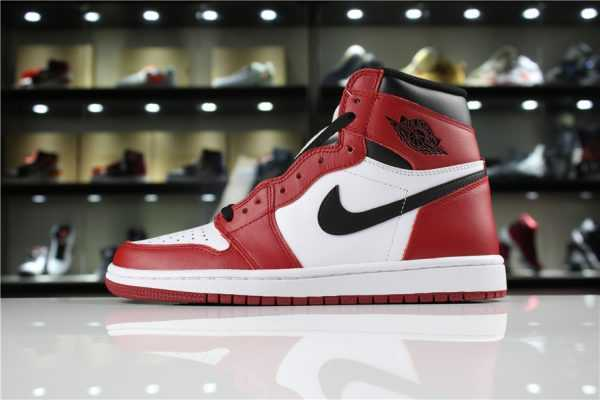 "Air Jordan 1 Retro High OG ""Chicago"" White/Black-Varsity Red 555088-101"