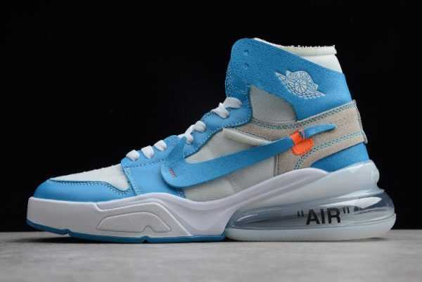 Off-White x Nike Air Force 270 x Air Jordan 1 High ' NC' For Sale