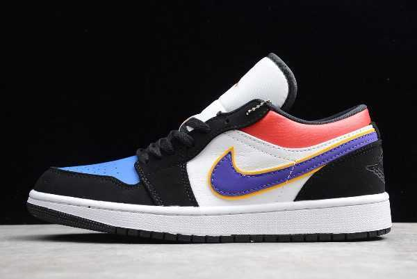 New Air Jordan 1 Low Lakers Top 3 For Sale CJ9216-051