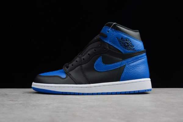 "Air Jordan 1 Retro High OG ""Royal"" Black/Varsity Royal-White 555088-007"