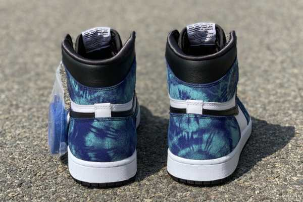 2020 New Air Jordan 1 Retro High OG Tie Dye CD0461-100 For Sale