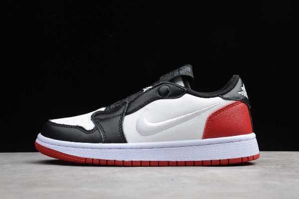 Nike Air Jordan 1 Retro Low Slip Black Toe For Sale AV3918-102