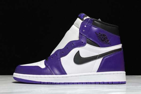 2020 Cheap Air Jordan 1 Retro High OG Court Purple 555088-500 For Sale