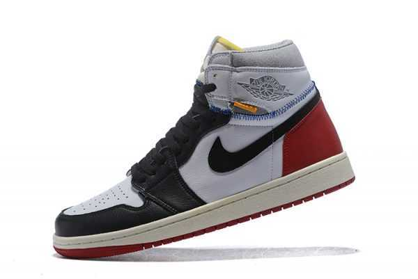 2018 Union x Air Jordan 1 Retro High OG NRG White/Varsity Red-Wolf Grey-Black BV1300-106