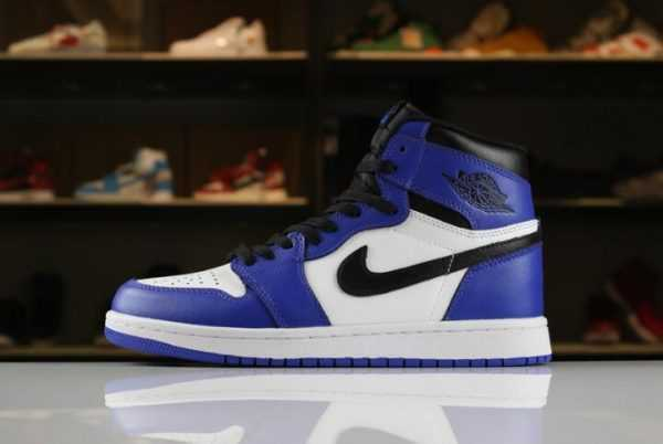 "Men' s and Women' s Air Jordan 1 Retro High OG ""Game Royal"" 555088-403 For Sale"