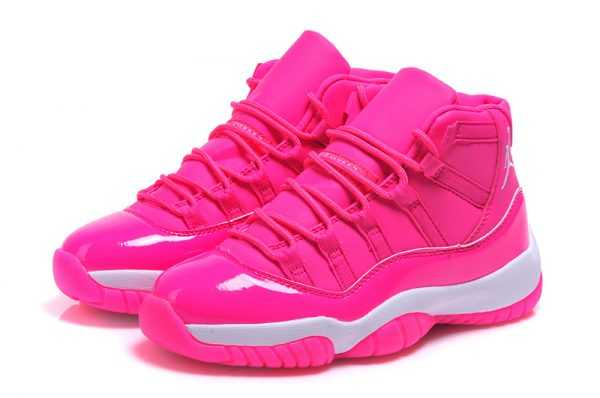 Buy Women' s Air Jordan 11 GS ' ink Everything' Pink White Shoes Online