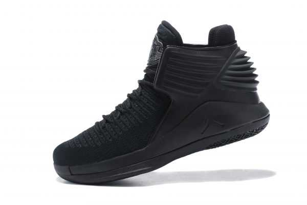 "Latest Air Jordan 32 ""Triple Black"" Men' s Basketball Shoes"