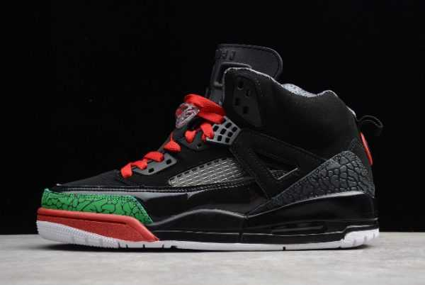 Jordan Spizike Black Green Varsity Red For Sale 315371-026