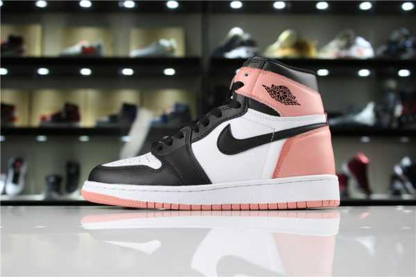 "Girls Air Jordan 1 Retro High OG NRG ""Rust Pink"" For Sale"