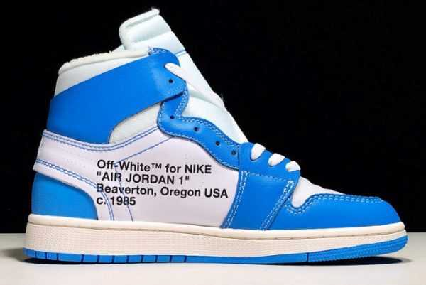 Womens Air Jordan 1 Off White ' NC' Online Sale AQ0818-148