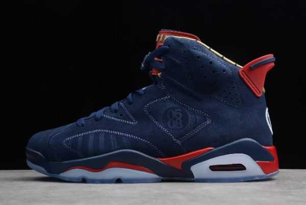 2019 Air Jordan 6 DB ' oernbecher' Midnight Navy CI6293-416