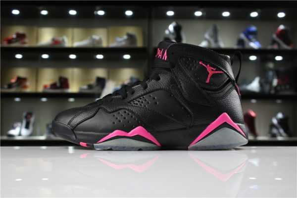"Air Jordan 7 ""Hyper Pink"" Black/Hyper Pink 442960-018 For Sale"