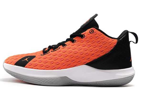 Jordan CP3.XII Black White Orange Mens Sale