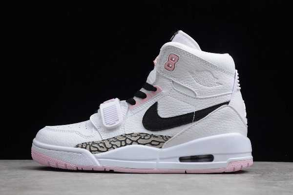 Air Jordan Legacy 312 GS White/Black-Pink Foam For Sale AT4040-106