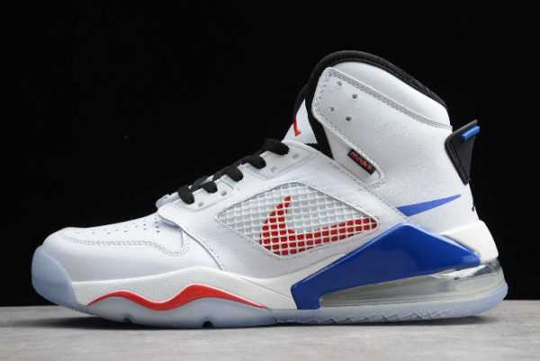 Jordan Mars 270 White/Rush Red-Hyper Royal On Sale